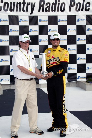 Pole winner Sam Hornish Jr.
