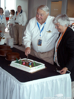 IMS media center manager Bill York celebrates his 70th birthday