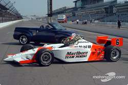 The winning car: the G-Force-Toyota