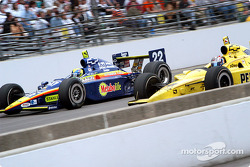 Vitor Meira and Sam Hornish Jr.