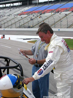 Practice session 2: Johnny Rutherford