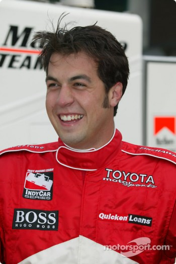 Two-time IRL IndyCar Series champion Sam Hornish Jr.