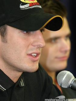 Young guns press conference: Tomas Scheckter