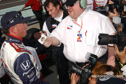 Interview for pole winner Buddy Rice