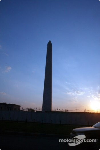 Indianapolis 500 - Washington D.C. visit: Washington monument