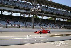 Larry Foyt looks for more speed