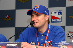 Press conference: Buddy Lazier