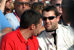 Larry Foyt and Tony Stewart