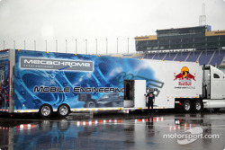 Cheever Racing transporter