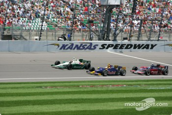 A.J. Foyt IV, Ed Carpenter and Buddy Rice