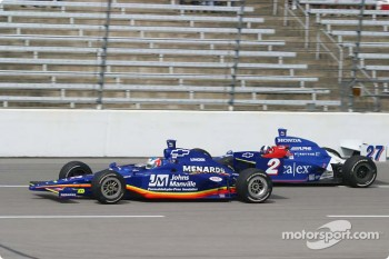 Townsend Bell and Dario Franchitti