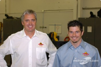Eddie Cheever and Patrick Carpentier