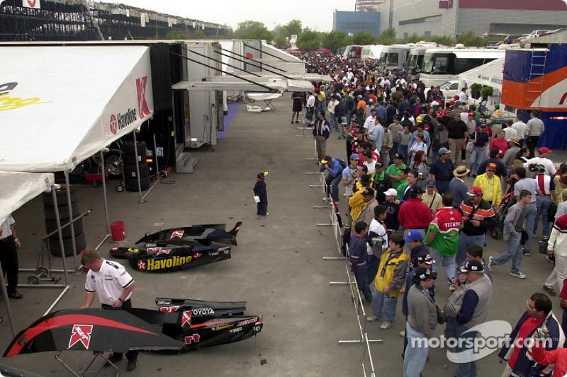 Newman/Haas Racing garage