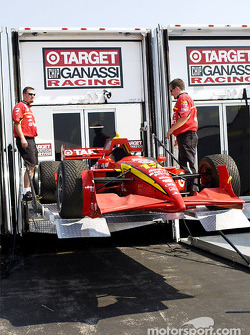 Ganassi Racing arriving