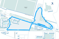 Formula E Foto - Layout ePrix Marrakesh