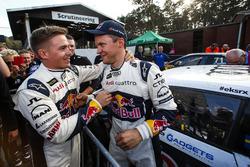 Toomas Heikkinen, EKS RX with Mattias Ekström, EKS RX