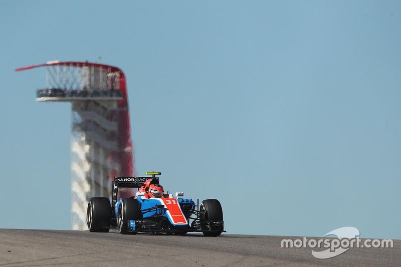 18. Esteban Ocon, Manor Racing MRT05