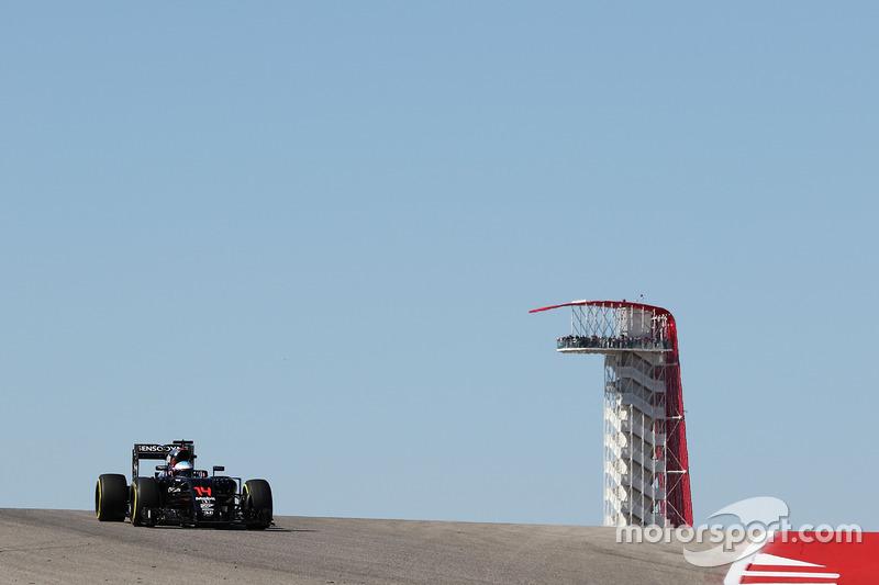 F1 La clasificación del GP de Estados Unidos, en directo