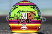 Formula 1 Foto - Il casco speciale che Esteban Gutiérrez, Haas F1 Team, userà nel GP del Messico