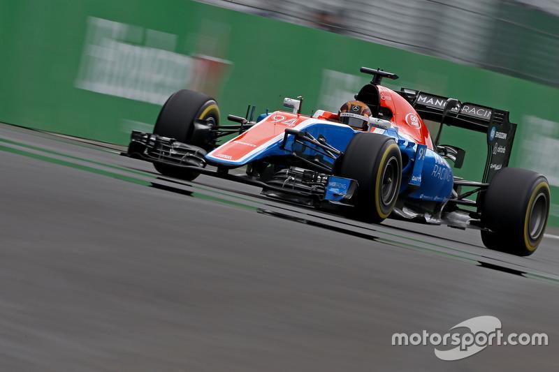 16. Pascal Wehrlein, Manor Racing