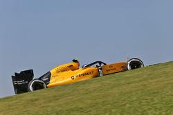 Jolyon Palmer, Renault Sport F1 Team RS16 mit dem Halo-Cockpitschutz