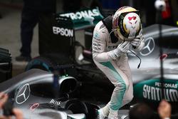 1st place Lewis Hamilton, Mercedes AMG F1 W07