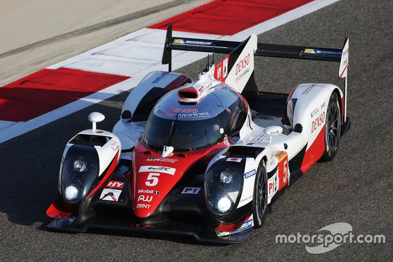 4. LMP1: #5 Toyota Racing, Toyota TS050 Hybrid: Sébastien Buemi, Kazuki Nakajima, Anthony Davidson