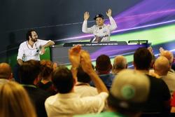 World Champion Nico Rosberg, Mercedes AMG F1 in the FIA Press Conference