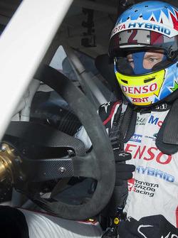 Alexander Wurz tests the World RX Team Austria Ford Fiesta
