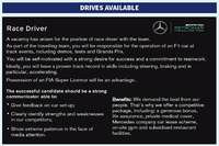 Fórmula 1 Fotos - Mercedes AMG F1 driver advert