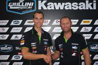 WSBK Fotos - Ondrej Jezek, Andrea Grillini, manager del equipo Grillini