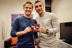Conferencia de prensa: Rosberg y Podolski