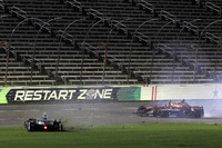 IndyCar Foto's - Mikhail Aleshin, Schmidt Peterson Motorsports crash