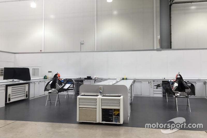 2017 Manor Racing şasisi