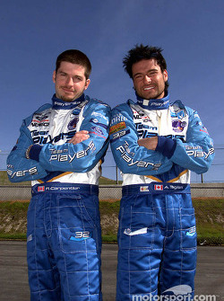 Patrick Carpentier and Alex Tagliani