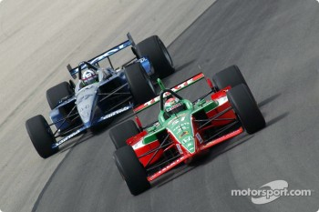 Adrian Fernandez and Dario Franchitti