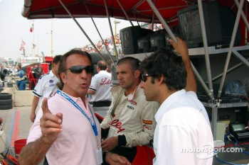 Emerson and Christian Fittipaldi