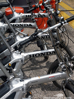 Honda-powered bicycles