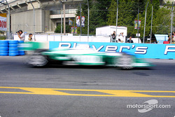 Paul Tracy in a motion blur