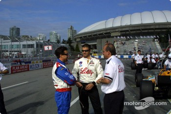 Michael Andretti and Christian Fittipaldi