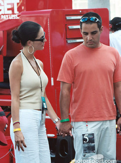 Juan Pablo Montoya and Connie
