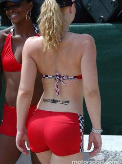 Grand Prix America girl