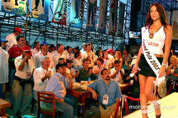 The lovely winner of the Miss Grand Prix 2003 contest