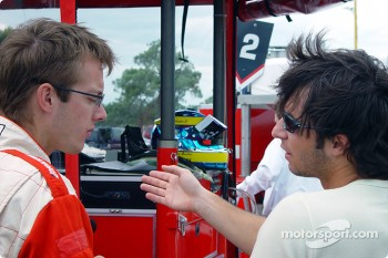 Sbastien Bourdais and Bruno Junqueira