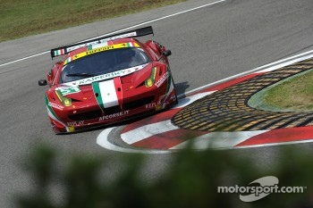 #51 AF Corse Ferrari 458 Italia: Giancarlo Fisichella, Gianmaria Bruni