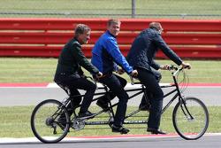 Eddie Jordan, David Coulthard, BBC TV