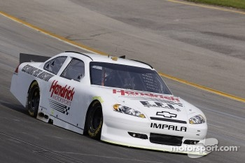 The Hendrick test car