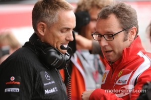 Stefano Domenicali and FOTA Chairman Mertin Whitmarsh