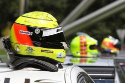 The Helmet of Ralf Schumacher, Team HWA AMG Mercedes