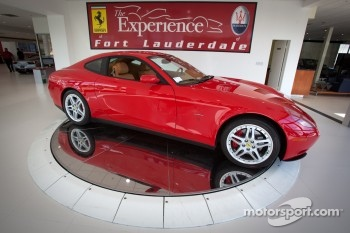 Ferrari of Fort Lauderdale, showroom